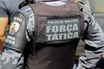 PM da Força Tática reage a assalto e dois criminosos são baleados em MT