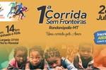 Voluntários promovem 1ª Corrida Sem Fronteiras em Rondonópolis