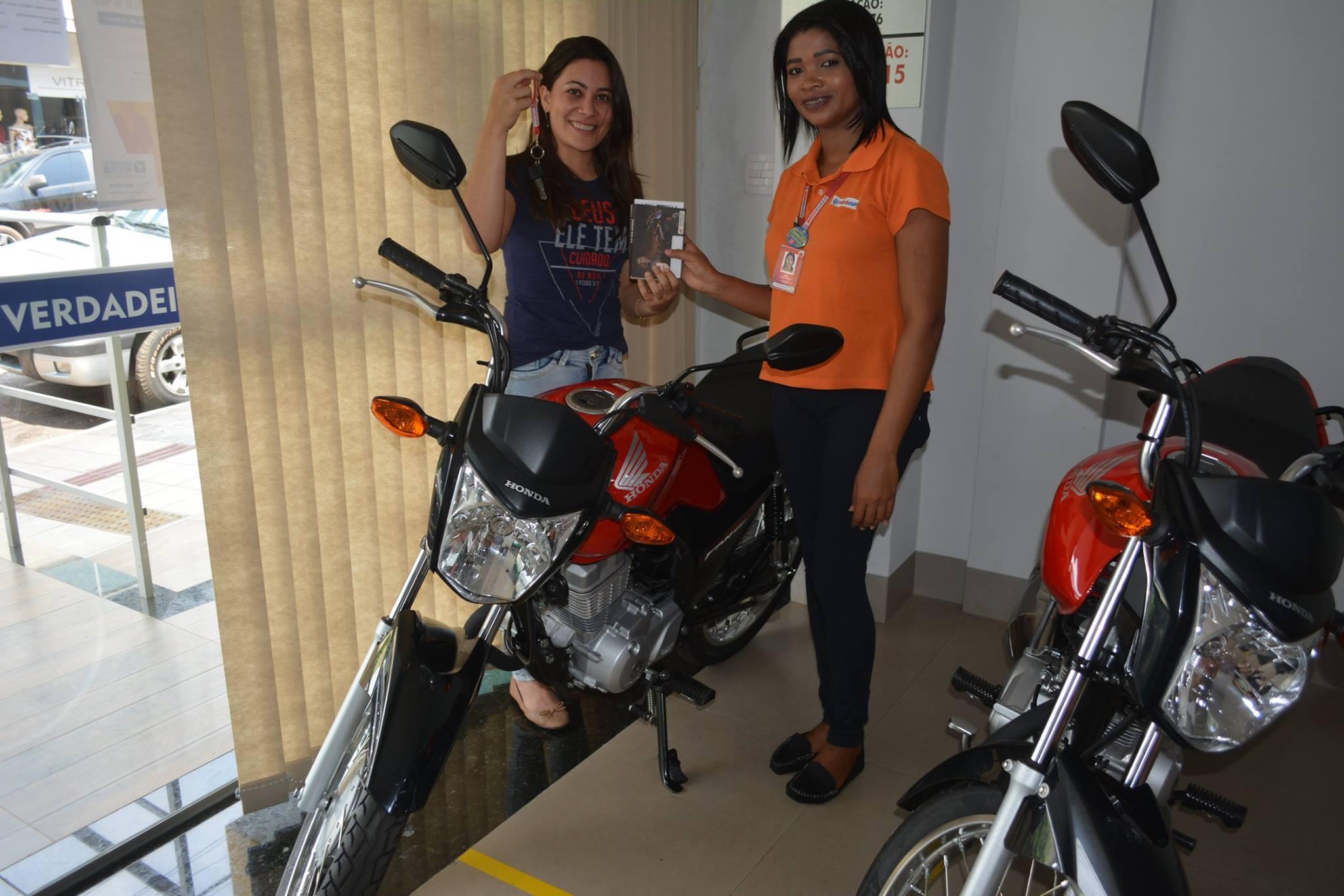 Duas motos também foram entregues aos ganhadores. Foto: CDL