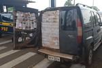 Motorista é preso pela PRF com cigarros contrabandeados