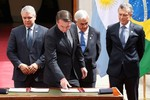 """Para Piñera, Prosul vai """"enfrentar problemas e assumir oportunidades"""""""