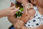 Cuiabá intensifica vacinação contra sarampo em crianças de 06 meses a menores de 1 ano
