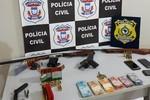 Operação contra o comércio de armas e munições prende 10 pessoas