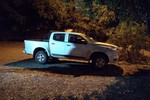 PM intercepta assaltantes e recupera caminhonete roubada