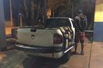 Jovem é preso pela PRF na BR-163 com picape roubada